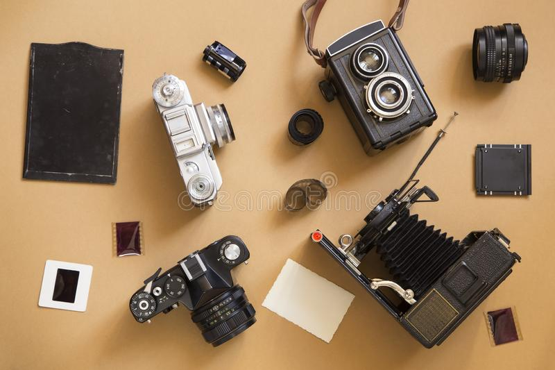 Stare kamery fotografia stock