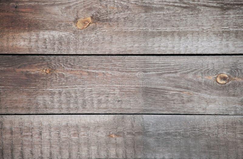 Stare krakingowe drewniane deski Pionowo przybijający Tło obraz stock