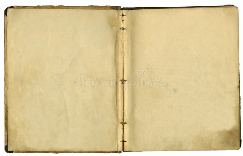 stare książki się strony obraz stock