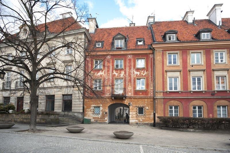Stare Maisto - alte Stadt Warschau lizenzfreies stockfoto