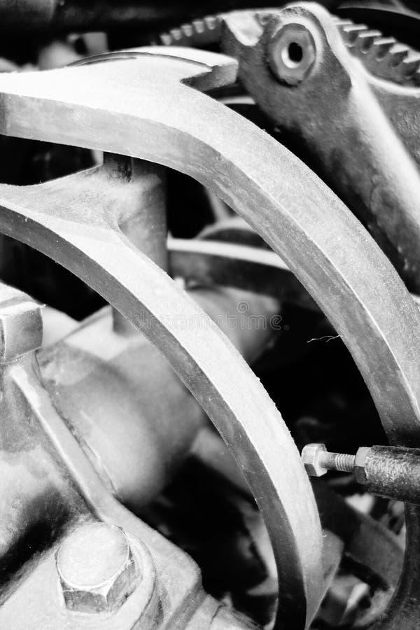 Stare maszynerii przekładnie, narzędzia i obraz royalty free