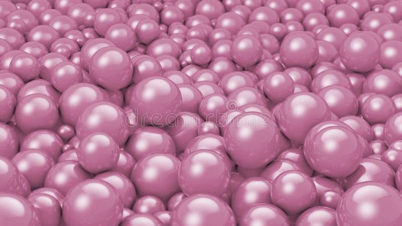 stare piłek purpury ilustracji