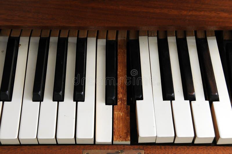 stare pianino fotografia royalty free