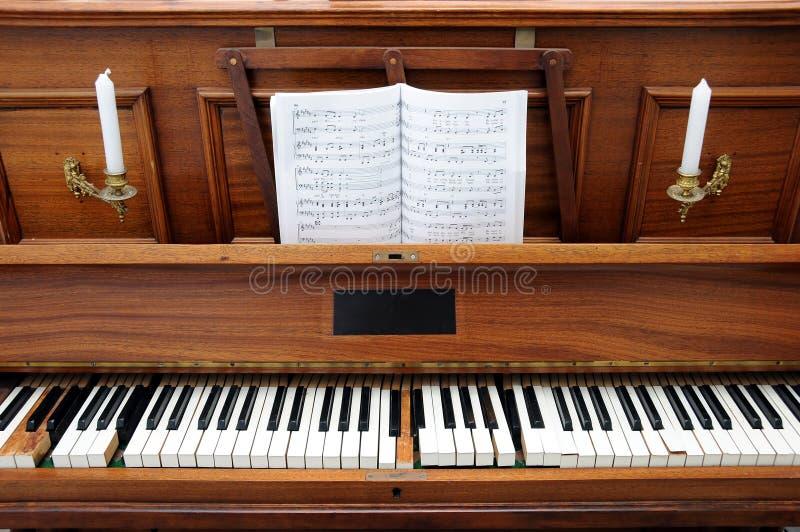 stare pianino obraz stock