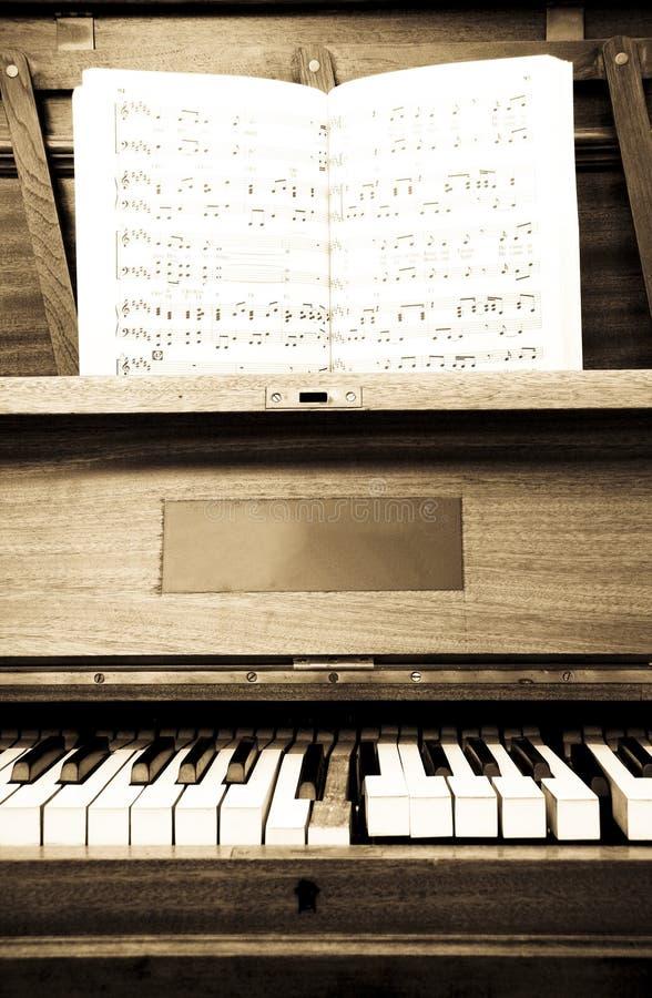 stare pianino zdjęcia stock