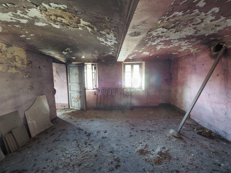 stare ruiny domu obrazy stock