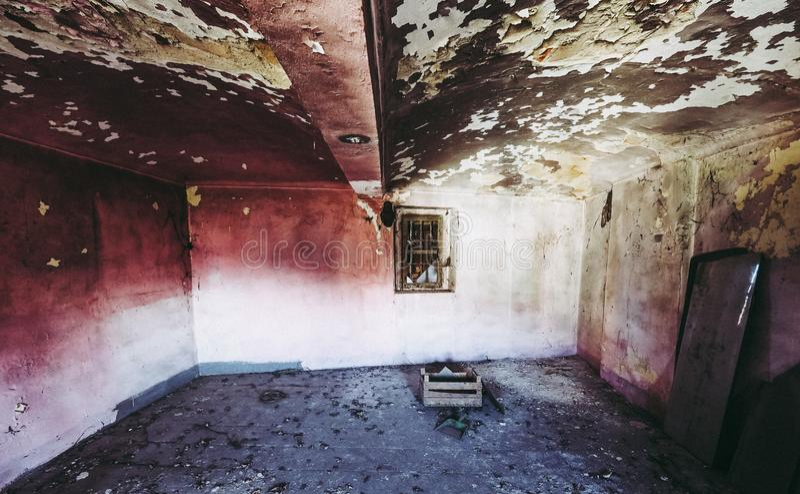 stare ruiny domu zdjęcie stock