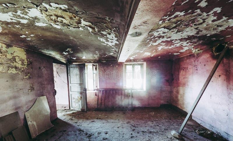 stare ruiny domu obraz royalty free