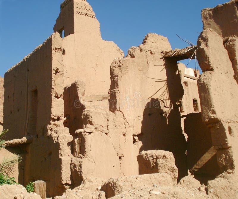 Stare ruiny w atlant górach zdjęcia stock
