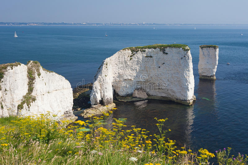 Stare Skały Harry Bournemouth i fotografia royalty free