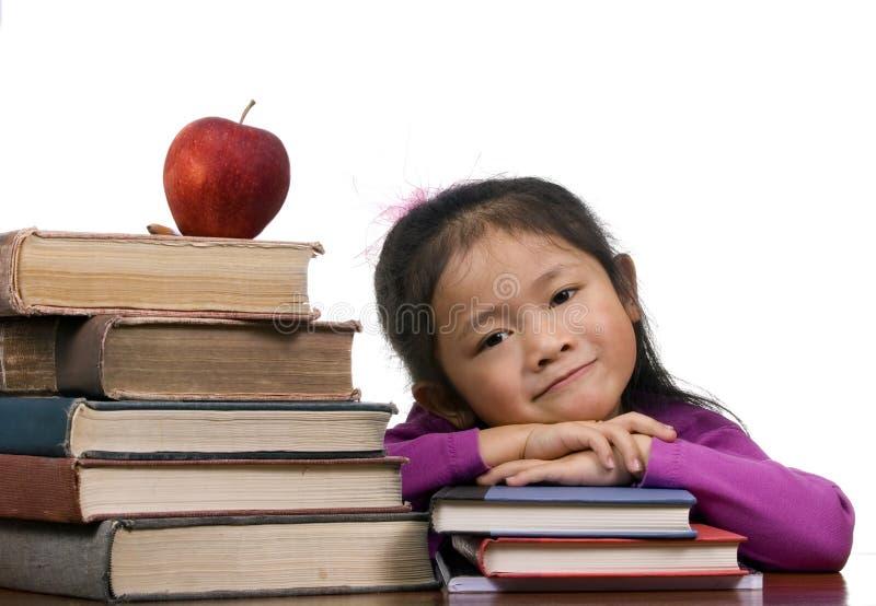 stare szereg nowych edukacyjne zdjęcia stock