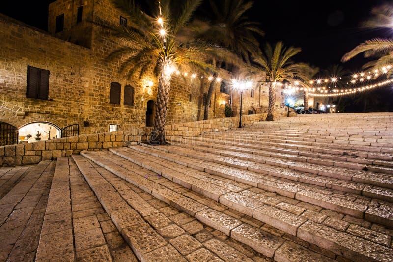 Stare ulicy Jaffa, Tel Aviv, Izrael zdjęcia royalty free