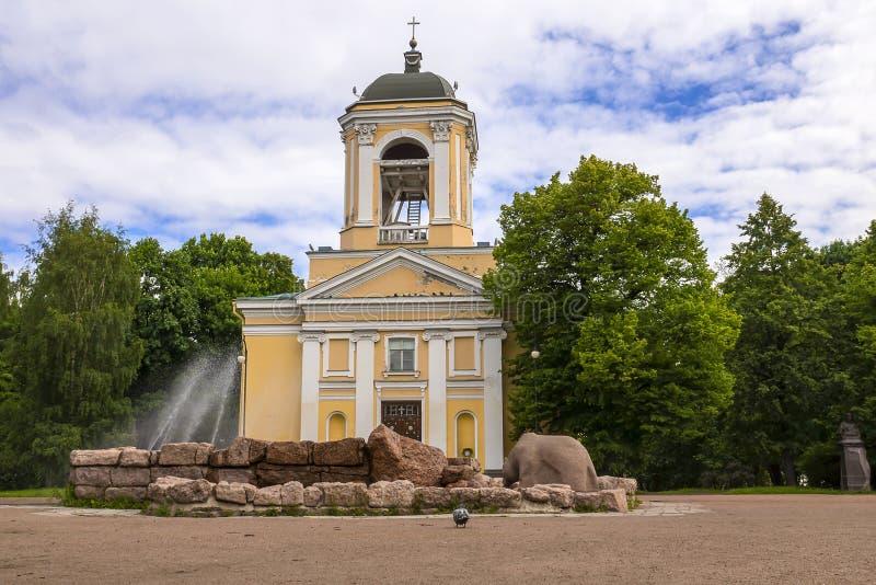 Stare ulicy Vyborg, Rosja zdjęcie stock