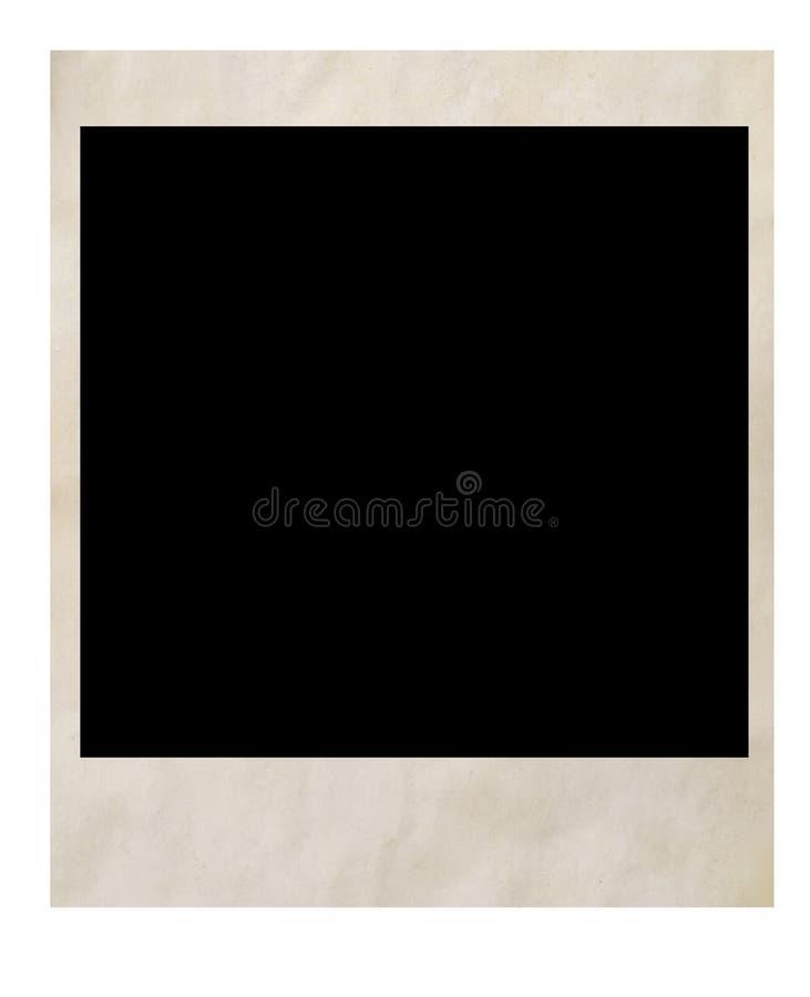stare zdjęcie polaroid royalty ilustracja
