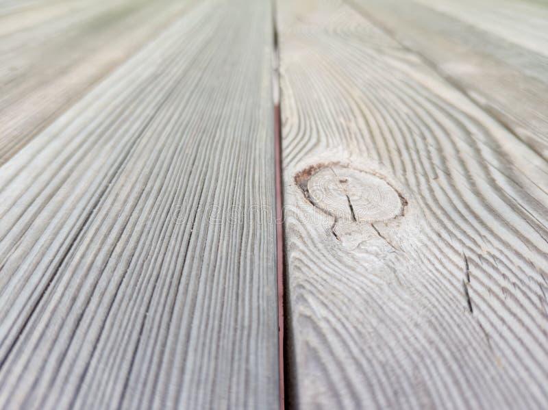 Starego br?zu drewniana pod?ogowa tekstura z perspektywicznym skutkiem obrazy royalty free