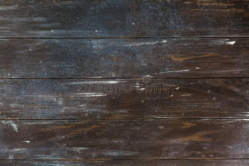 Starego ciemnego br?zu grunge tekstury drewniany t?o obrazy stock