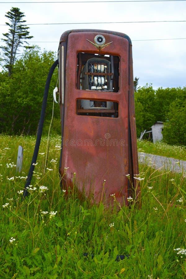 Starego czasu benzynowa pompa obrazy royalty free