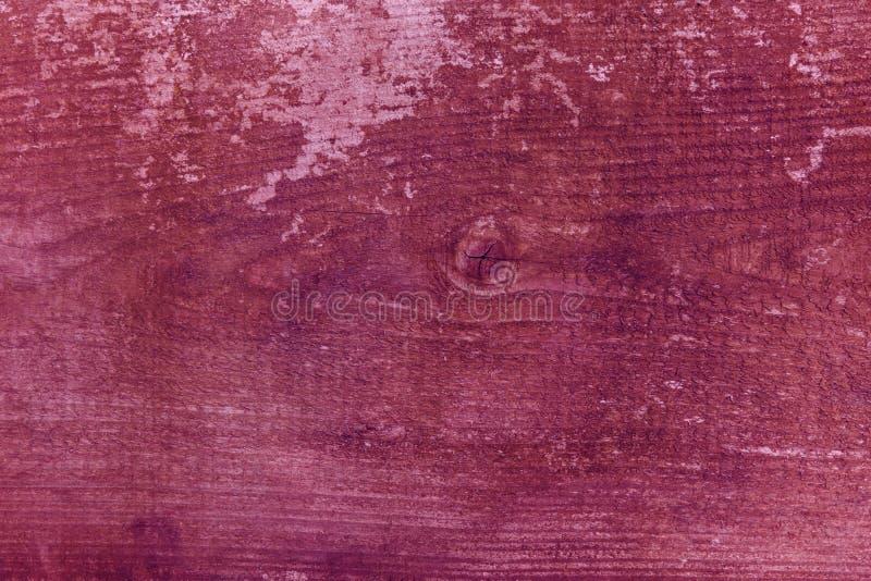 Starego Drewnianego tekstury tła rocznika czerwonego korala drewniany różowy purpurowy klingeryt obraz royalty free