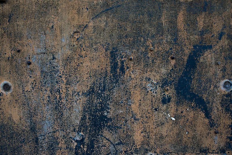 Starego grunge żelaza powierzchni szorstki oxidazed metal zdjęcia royalty free