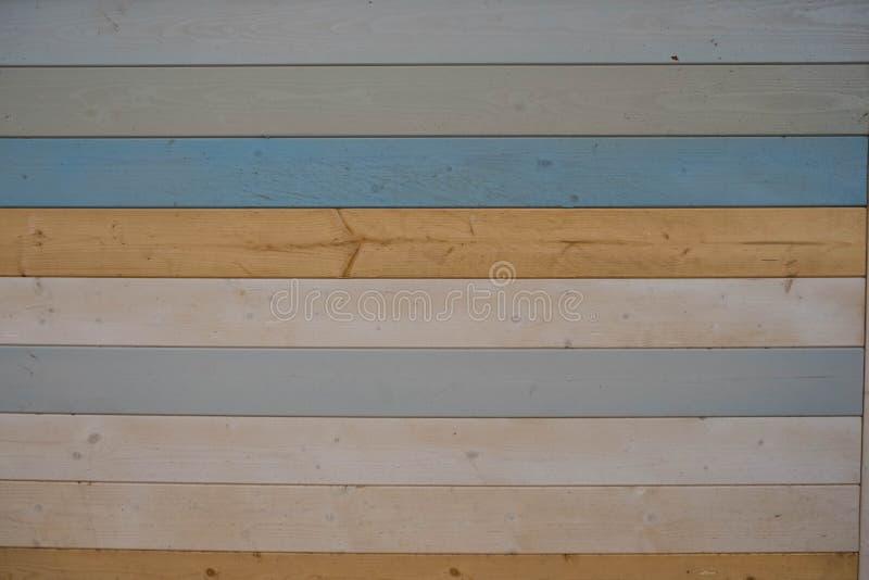 Starego koloru deski drewniana tekstura i tło Abstrakcjonistyczny drewniany tekstury tło kolorowy Pastelowa drewno ściany tekstur zdjęcia royalty free