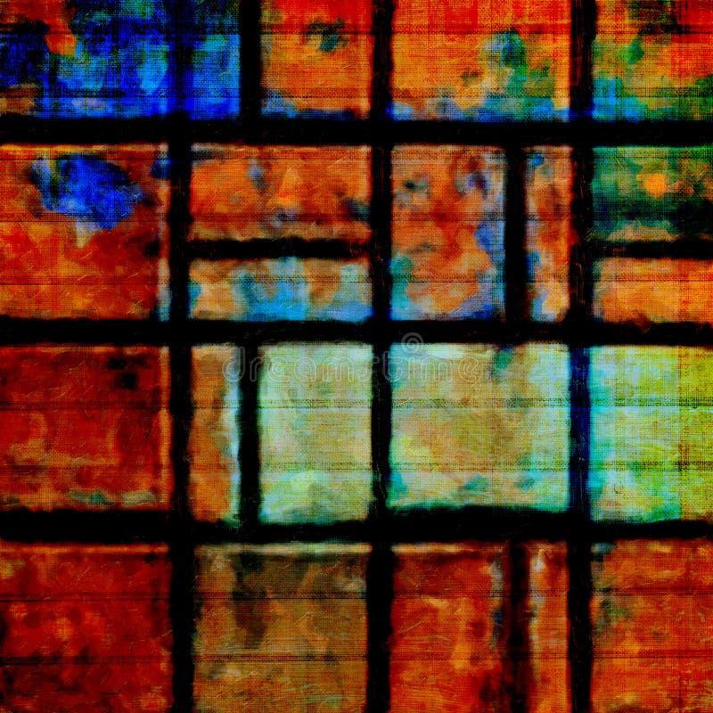 Download Starego Koloru Grunge Abstrakcjonistyczny Tło Z Teksturą Obraz Stock - Obraz złożonej z jaskrawy, barwiony: 53786873