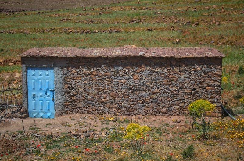 Starego kraju gospodarstwa rolnego jata fotografia royalty free
