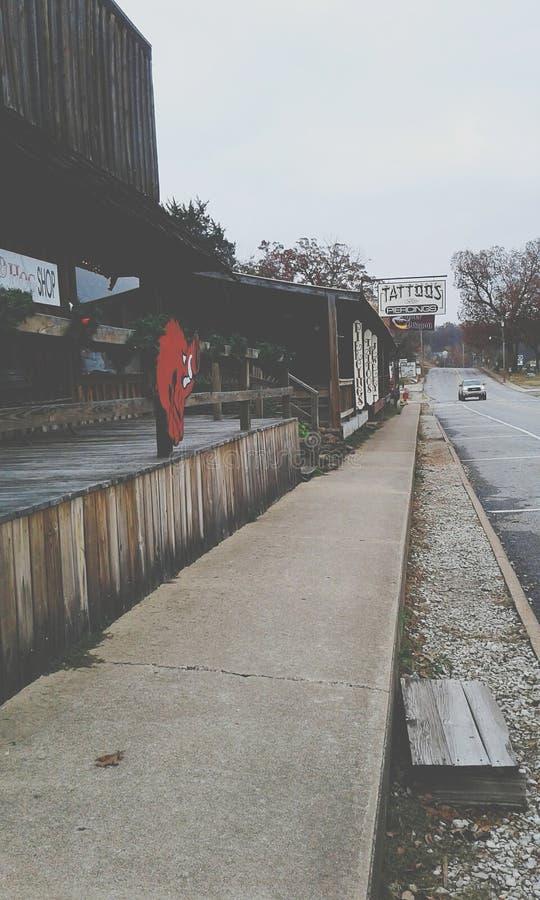Starego kraju miasteczko fotografia stock