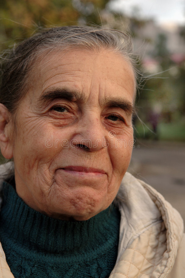 starego portreta mądra kobieta zdjęcia stock