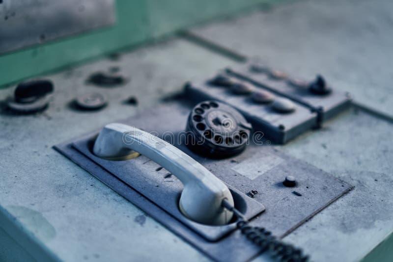 Starego przegranego abandonend budynku przemysłowa fabryczna elektrownia zdjęcie stock