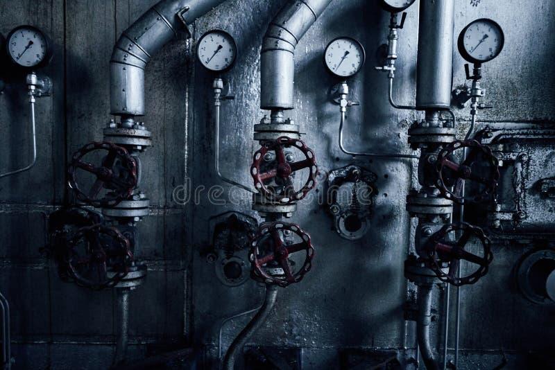 Starego przegranego abandonend budynku przemysłowa fabryczna elektrownia obrazy royalty free