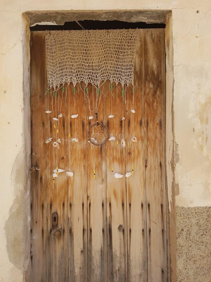 Starego stylu drzwi zdjęcie royalty free
