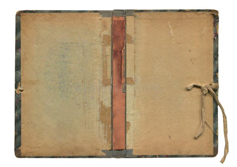 Starej książki prześcieradło obraz royalty free