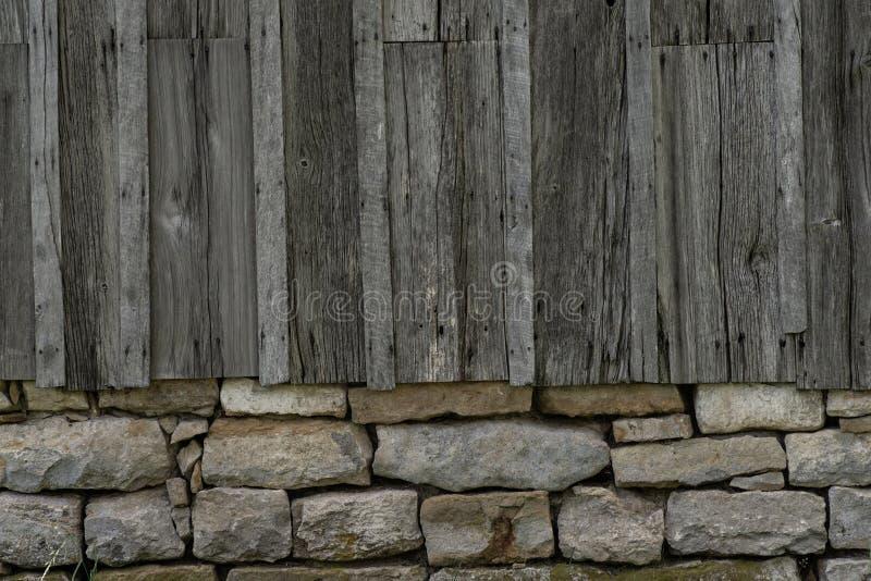 Starej stajni tła Drewniana tekstura zdjęcie stock