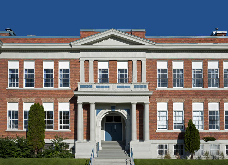 Starej szkoły architektura fotografia royalty free