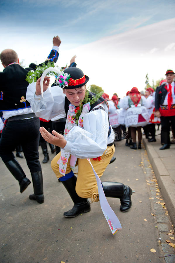 Starek dance Verbunk royalty free stock images