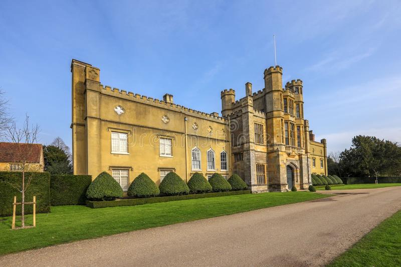 Starely home. Ancient, architecture, aristocracy, baronial, building, coughton, country, countryside, court, elizabethan, england, english, fireworks, gunpowder royalty free stock image