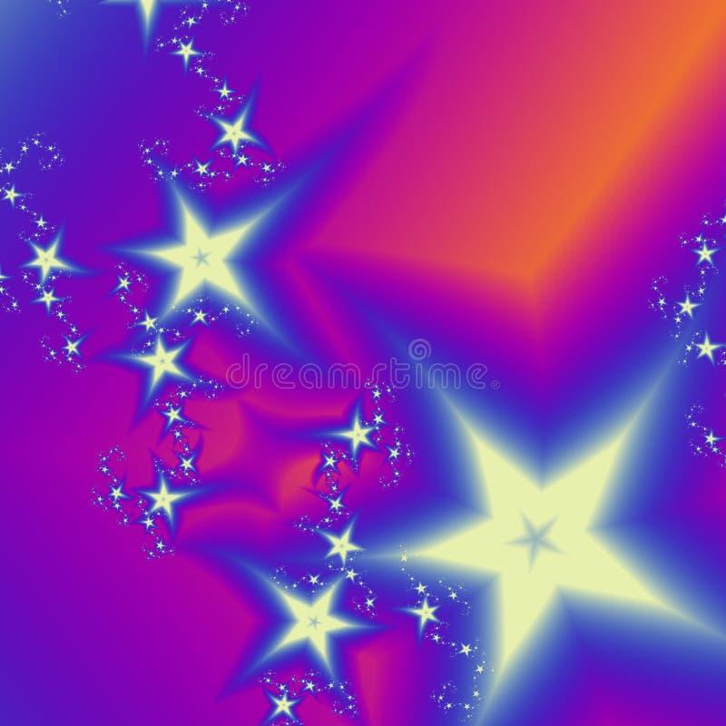 Starfall ilustração royalty free