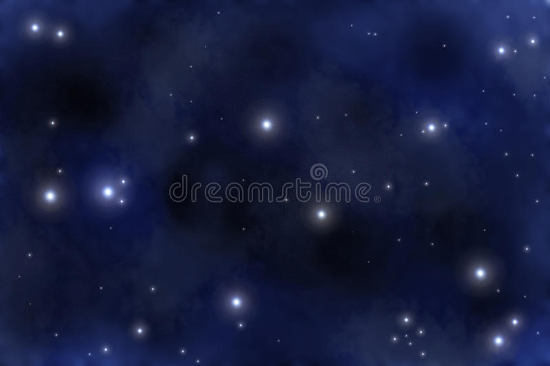 Starfield illustration de vecteur