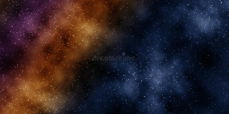 Starfield stock de ilustración