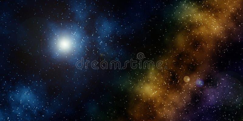 starfield иллюстрация штока