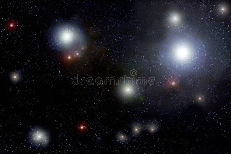 Starfield stock illustratie