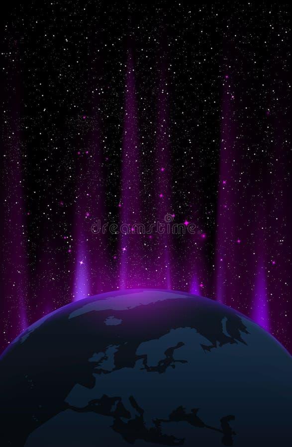Starfield royalty-vrije illustratie