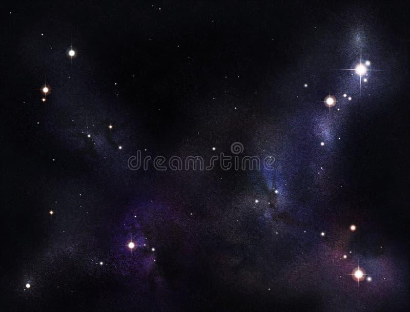 Download Starfield criado Digitas ilustração stock. Ilustração de stella - 12810746