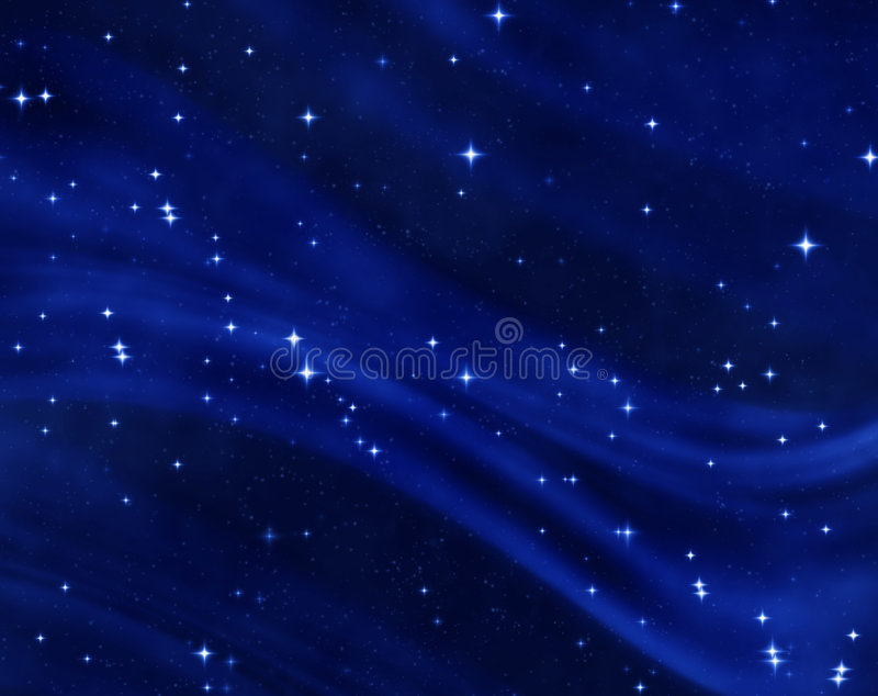 Starfield en cielo nocturno estrellado libre illustration