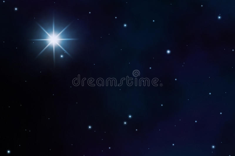 Starfield royalty free stock photography