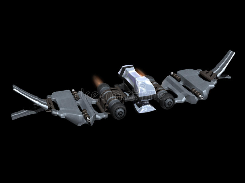 starfighter фронта действия вверх по взгляду бесплатная иллюстрация