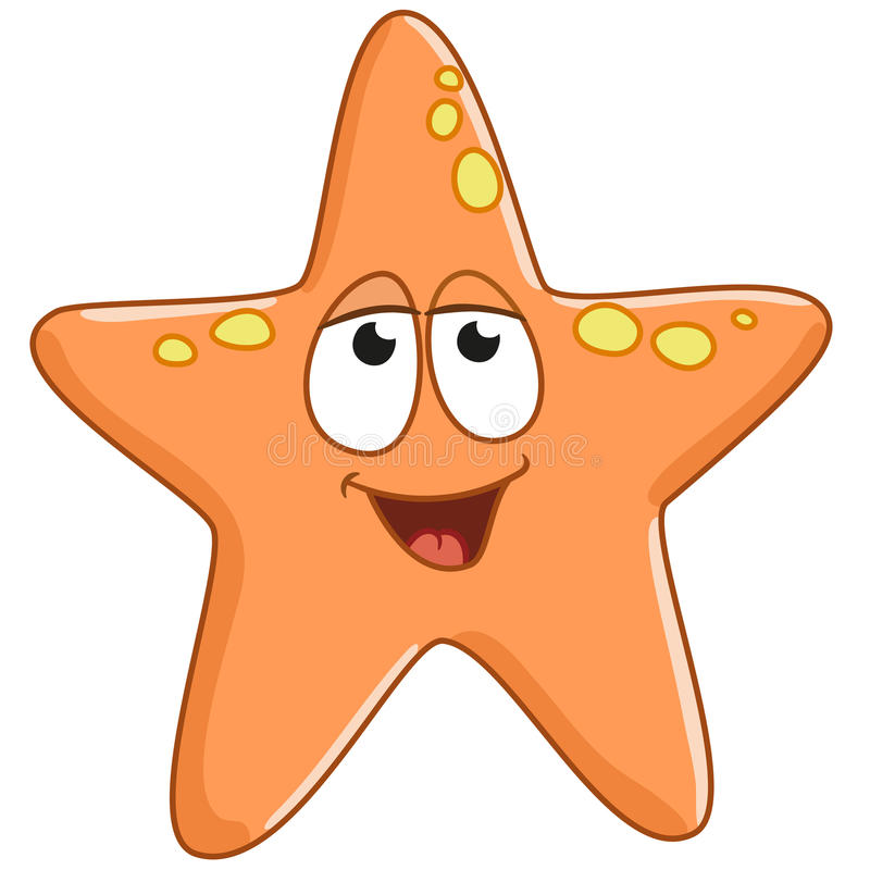 Starfish is glad stock photos
