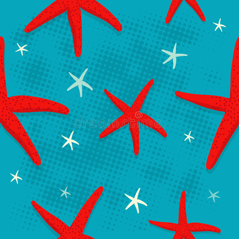 Starfish pattern stock images