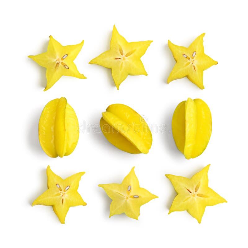 Starfruit do fruto do Carambola imagens de stock