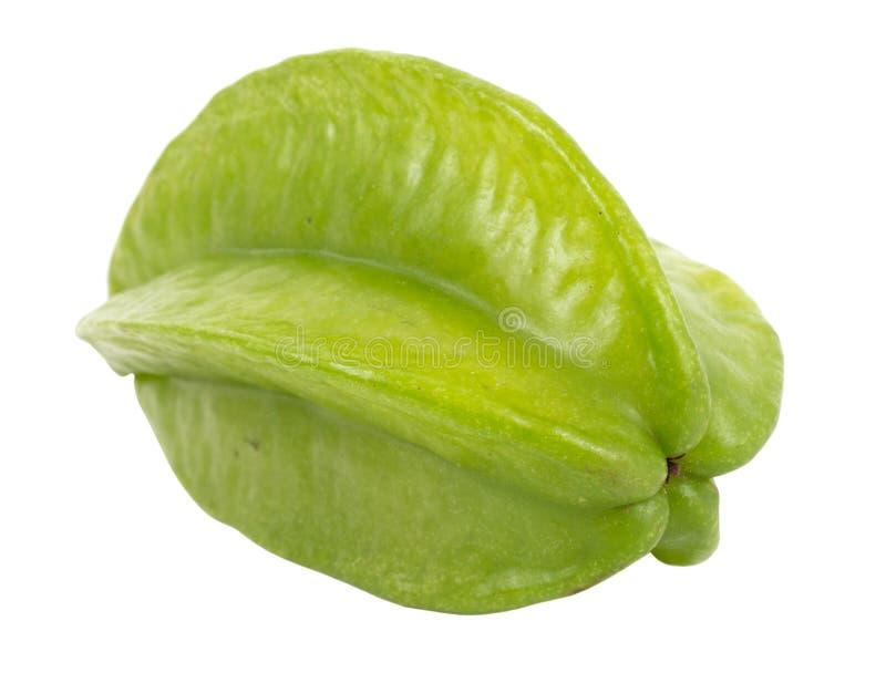 Starfruit verde verde imagens de stock